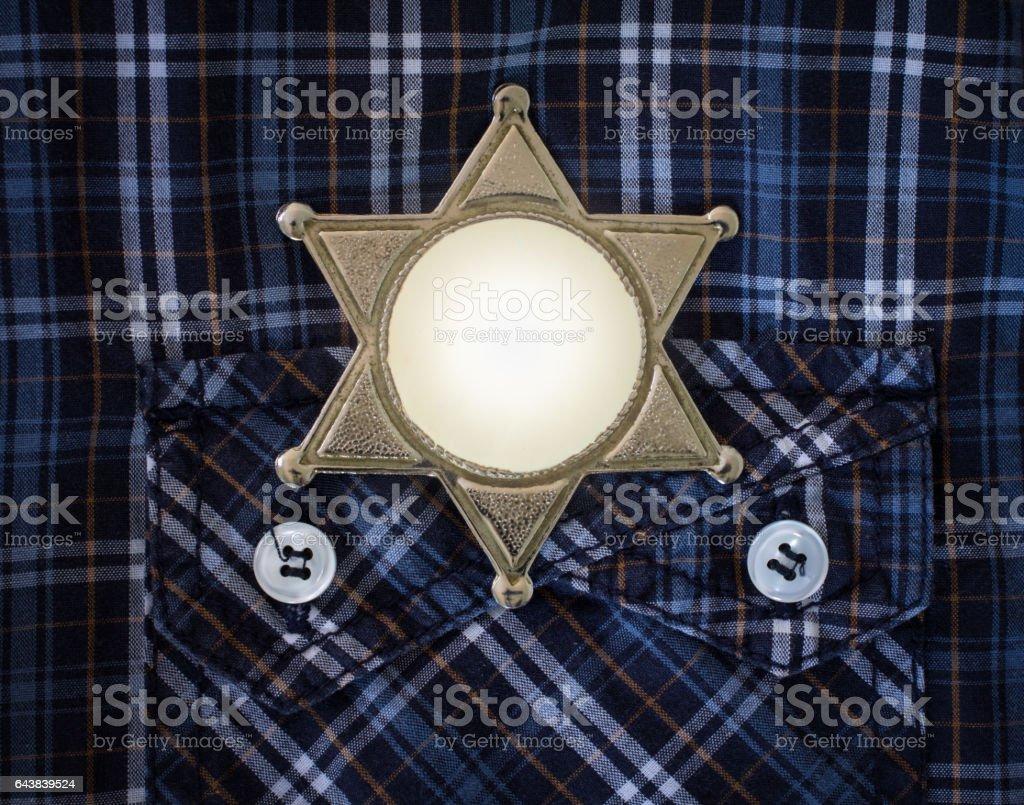 Wilden Westen Sheriff Abzeichen – Foto