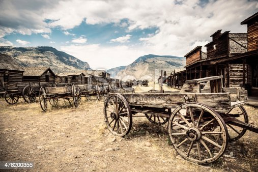 Abandoned Wild West Town, Wyoming. United States.http://www.phototrolley.com/downloads/BannersIstock/BannerYellowstone.jpg