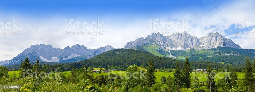 Wilder Kaiser, Austria, Tirol stock photo