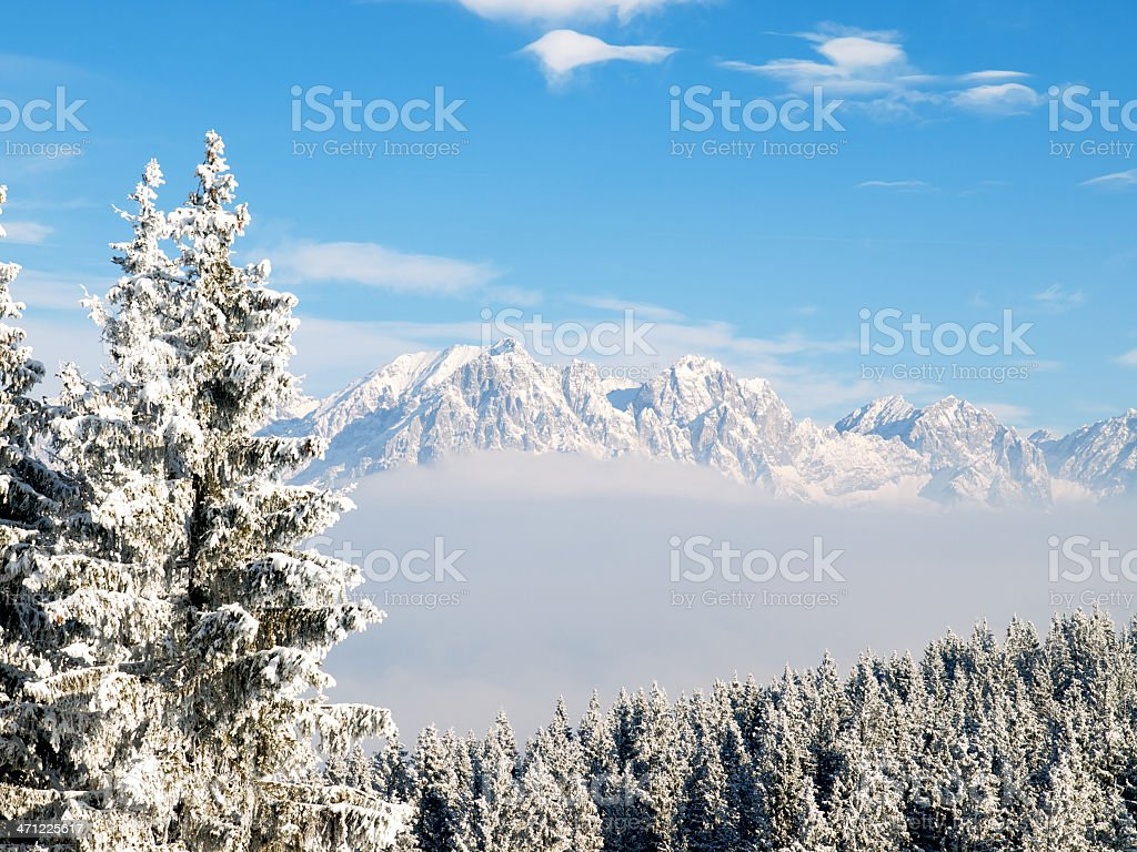 wilder Kaiser mountains royalty-free stock photo