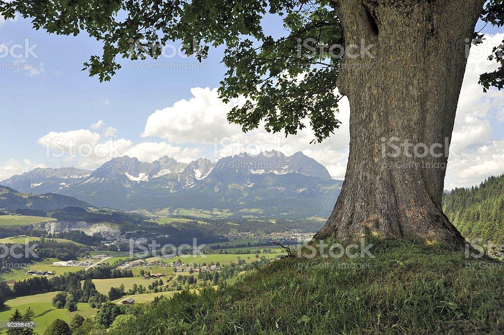 Wilder Kaiser Mountains Tyrol stock photo