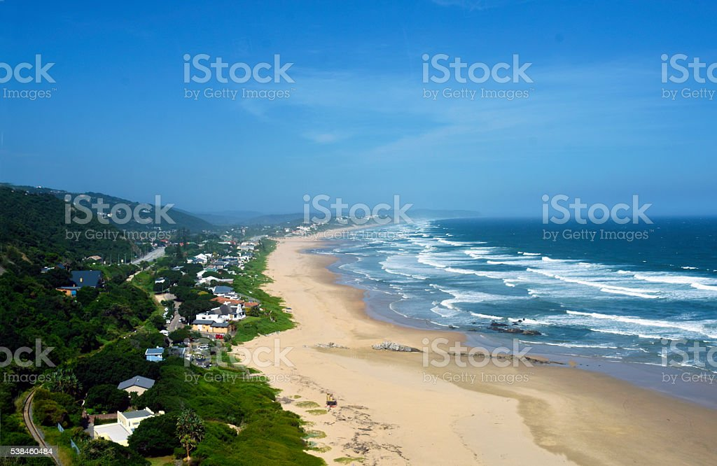 Wilderness Beach South Africa stock photo