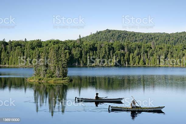 Photo of XXL wilderness lake kayaking