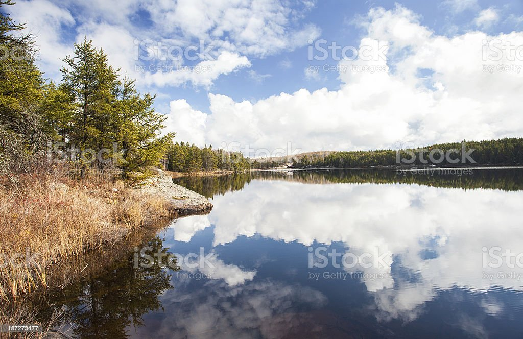 Wilderness Lake royalty-free stock photo