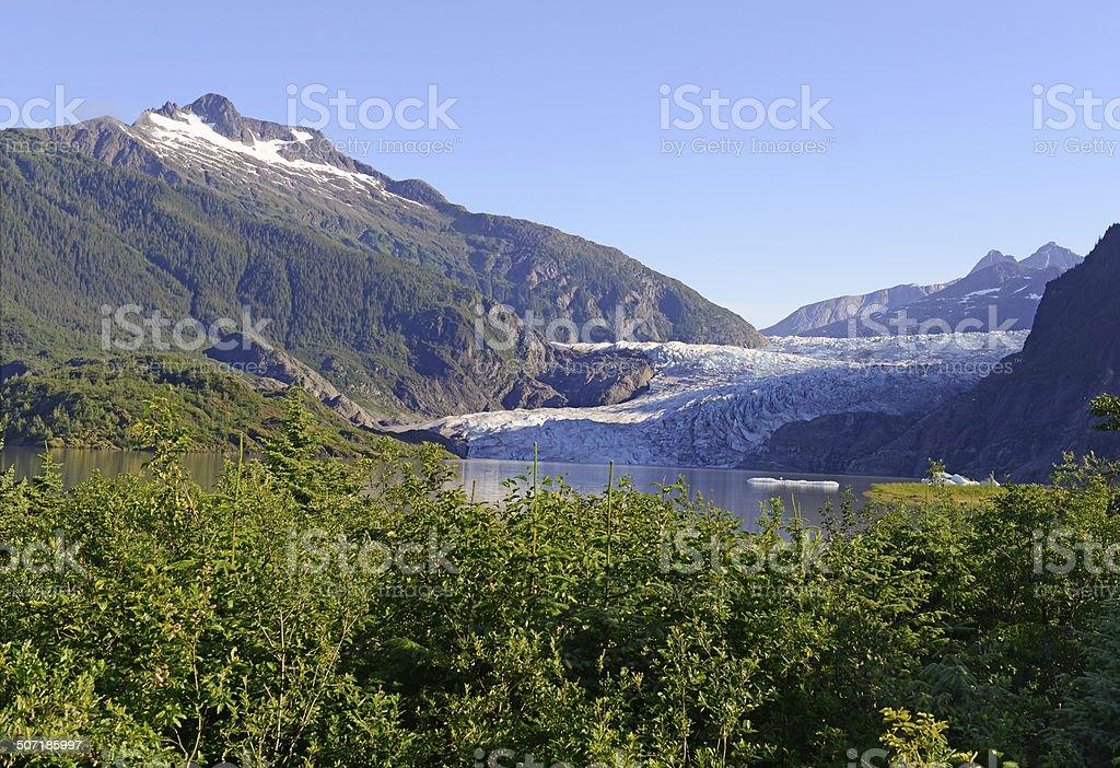 Wilderness Landscape in Alaska, USA stock photo