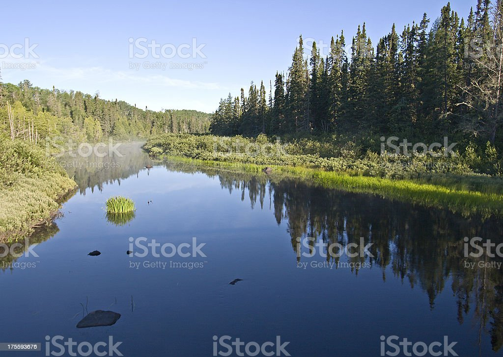 Wilderness River of the North royalty-free stock photo