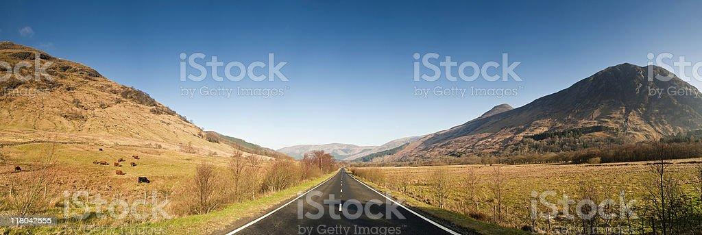 XXXL Wilderness road royalty-free stock photo