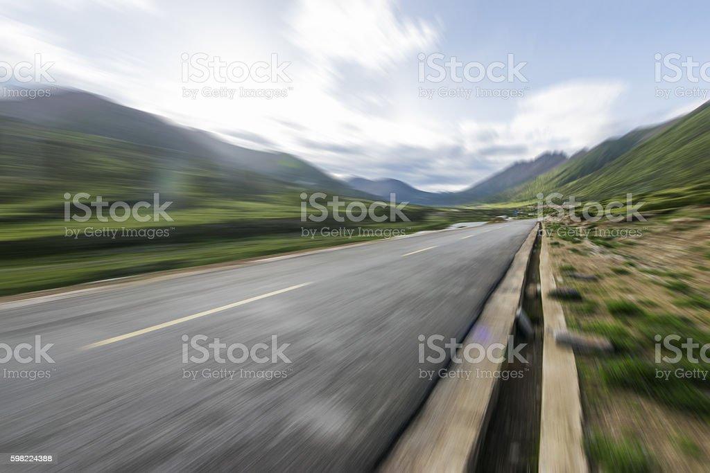 Wilderness road foto royalty-free