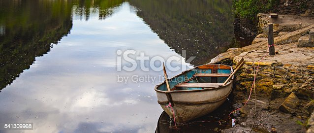 istock Wilderness Row Boat 541309968