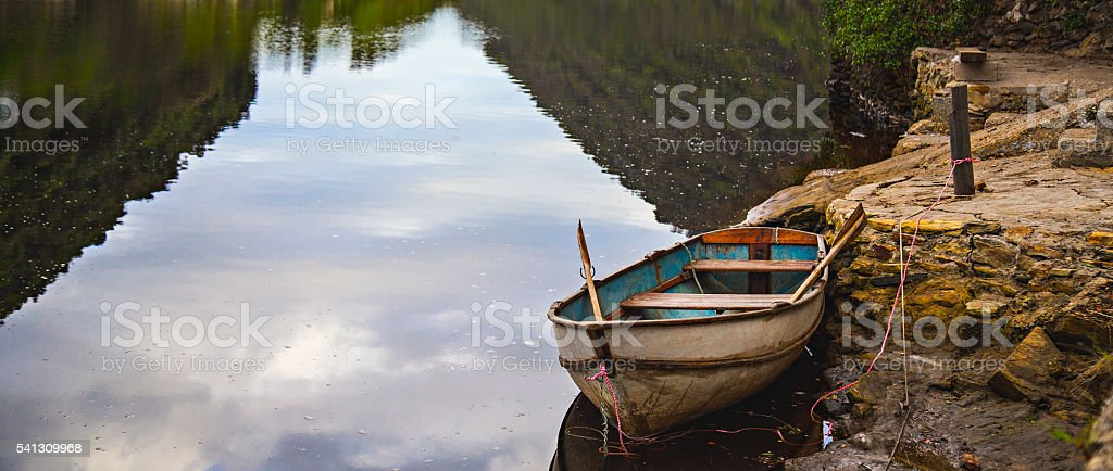 Wilderness Row Boat - Photo