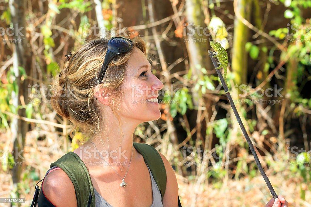 Wildlife fun stock photo
