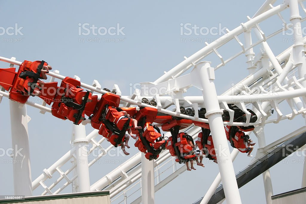 Wildwood ride royalty-free stock photo
