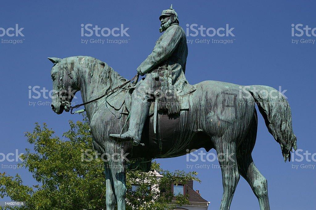 Wilhelm I stock photo