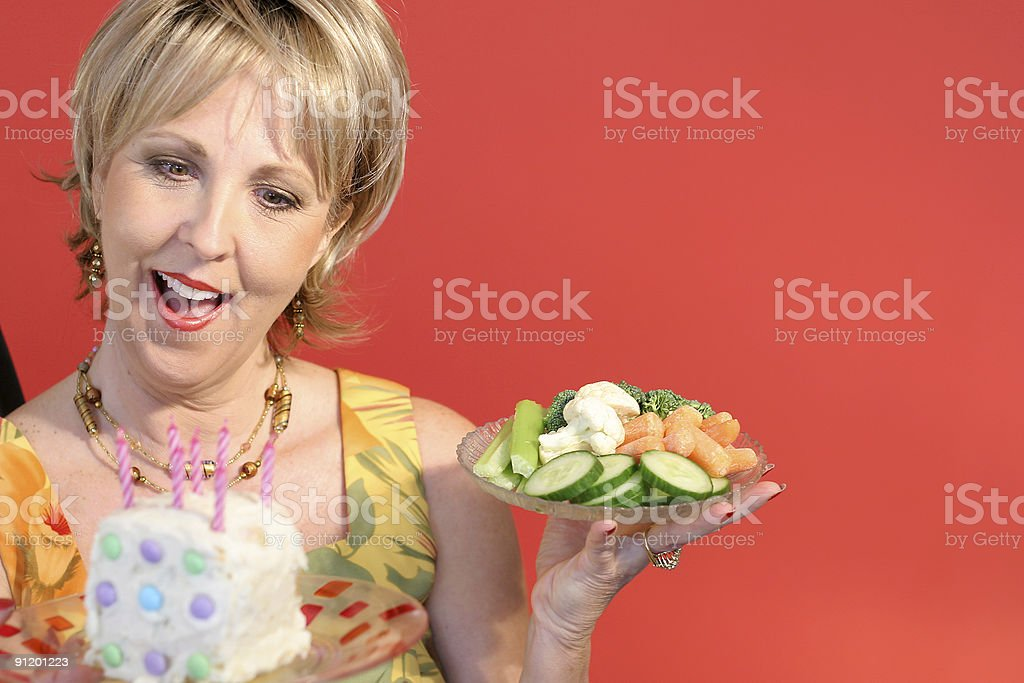 will power and diet royalty-free stock photo