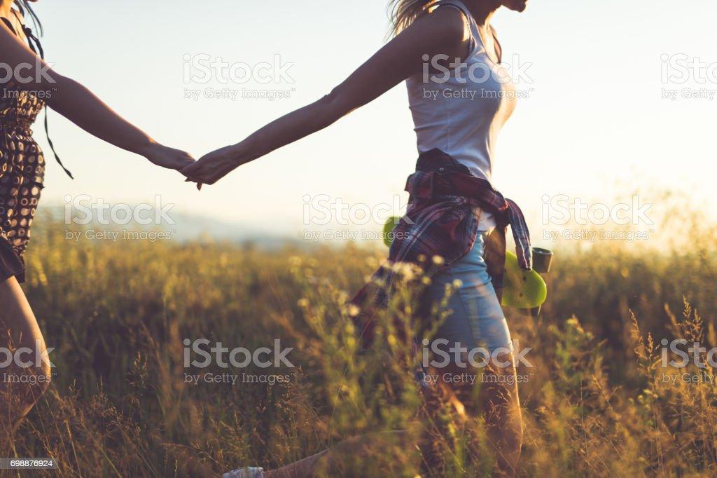 I will take you where adventure starts stock photo