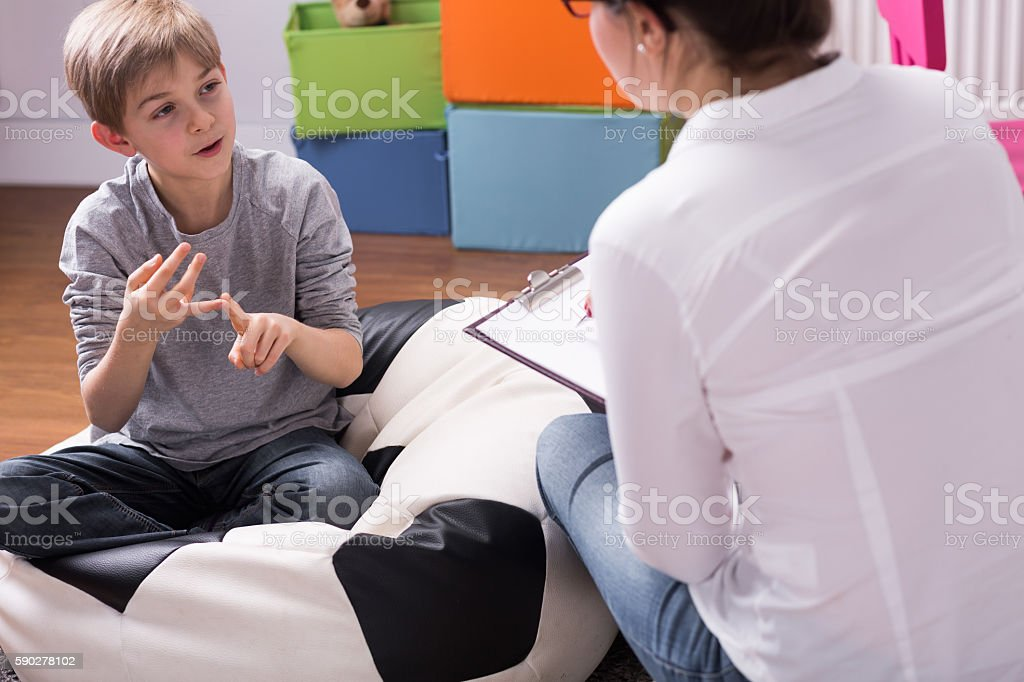 I will tell you all about it stock photo