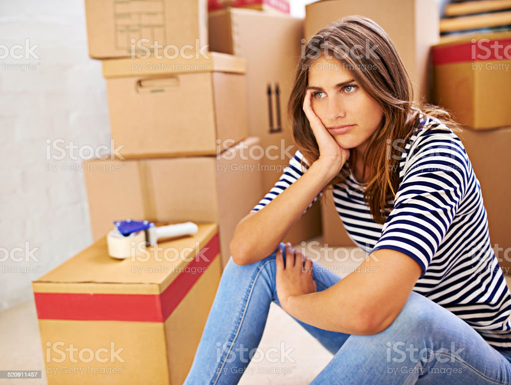 Will these boxes ever end stock photo