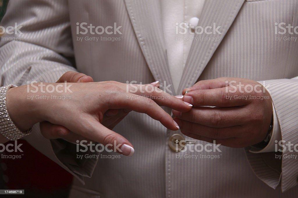 Wedding ceremony. Cross processing.Similar Image: