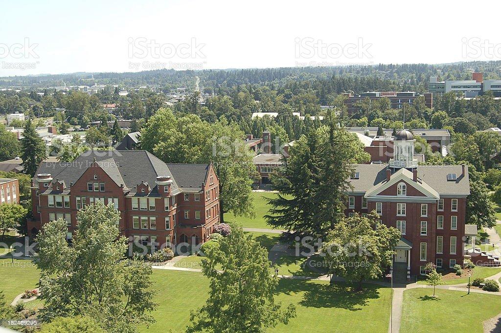 Willamette University stock photo