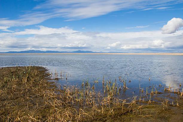 Willard Bay stock photo