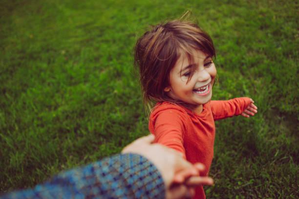 Willd Child stock photo