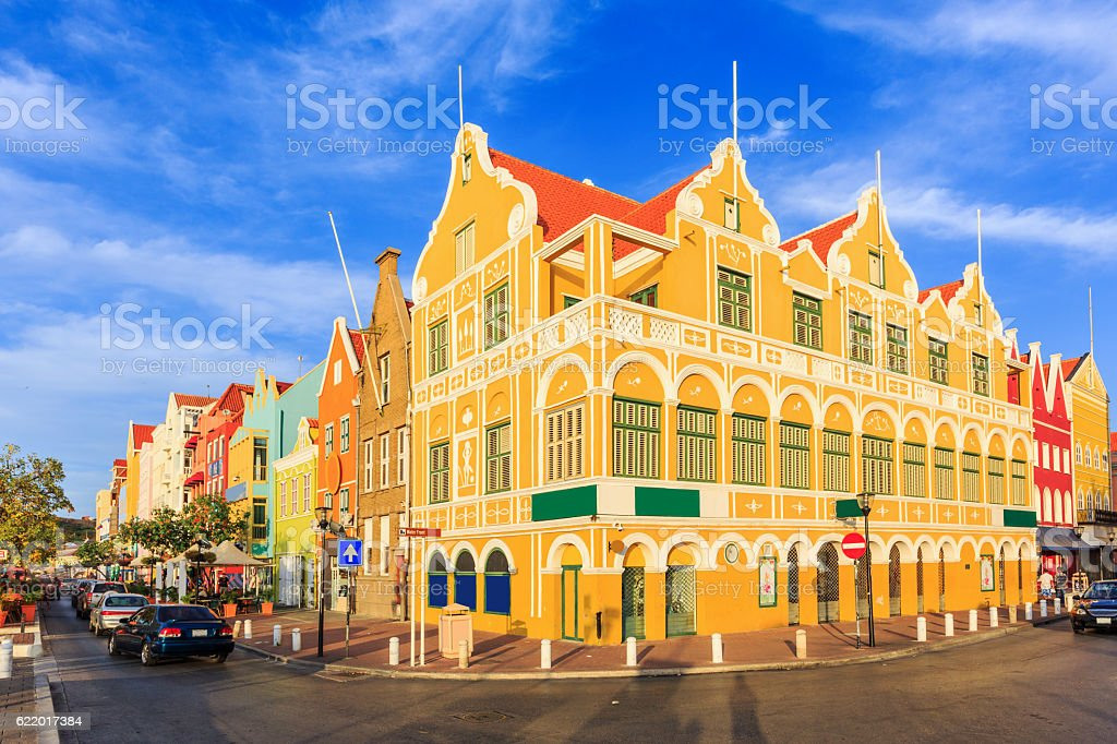 Willemstad. Curacao, Netherlands Antilles stock photo