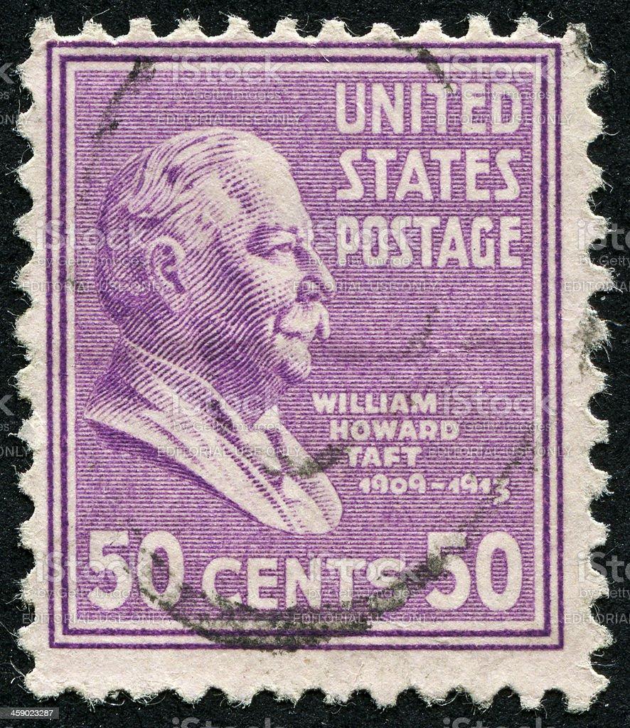 William Howard Taft stock photo