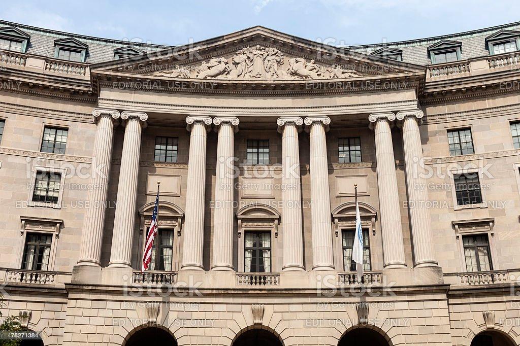 William Jefferson Clinton Federal Building In Washington, DC – Foto