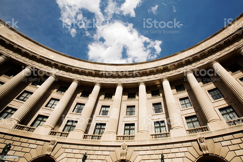 William Jefferson Clinton Federal Building Washington DC stock photo