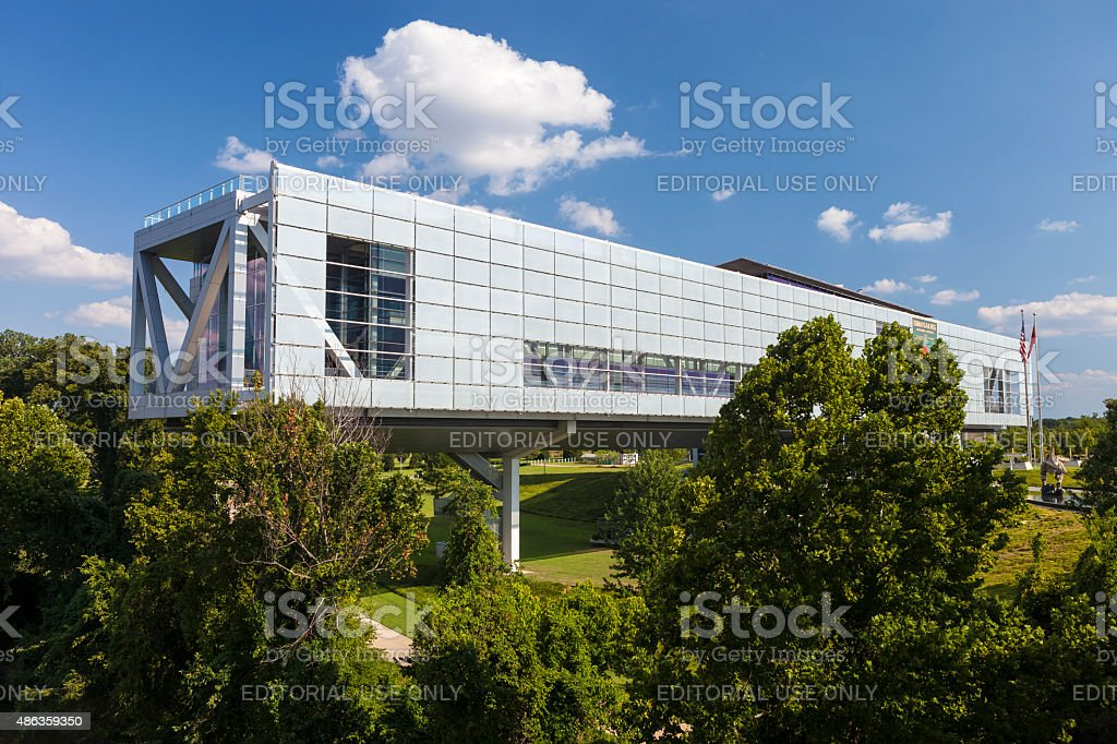 William Jefferson Clinton Presidential Library In Little Rock, Arkansas stock photo