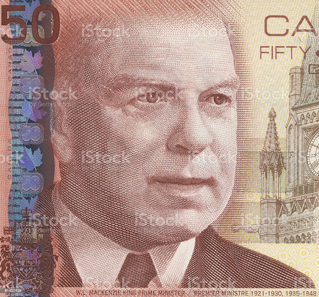 William Lyon Mackenzie King royalty-free stock photo
