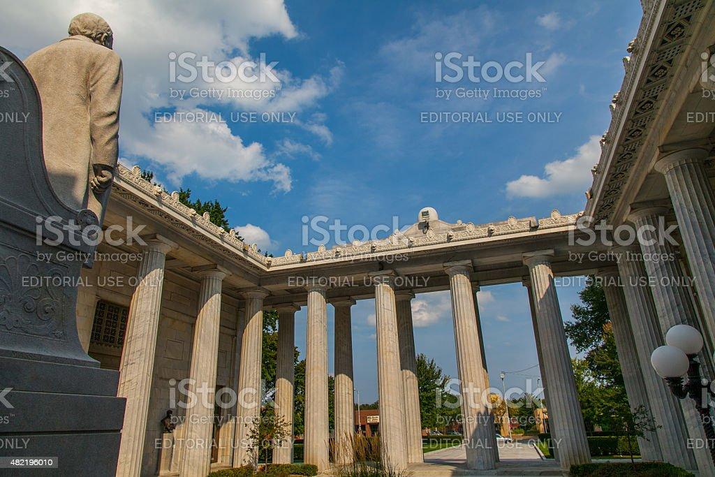 William McKinley National Memorial stock photo