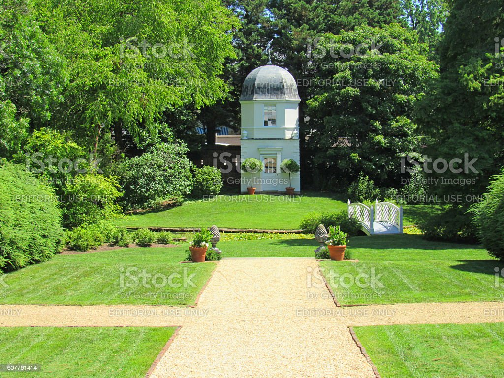 William Paca House And Garden In Colonial Annapolis, Maryland, USA  Royalty Free Stock