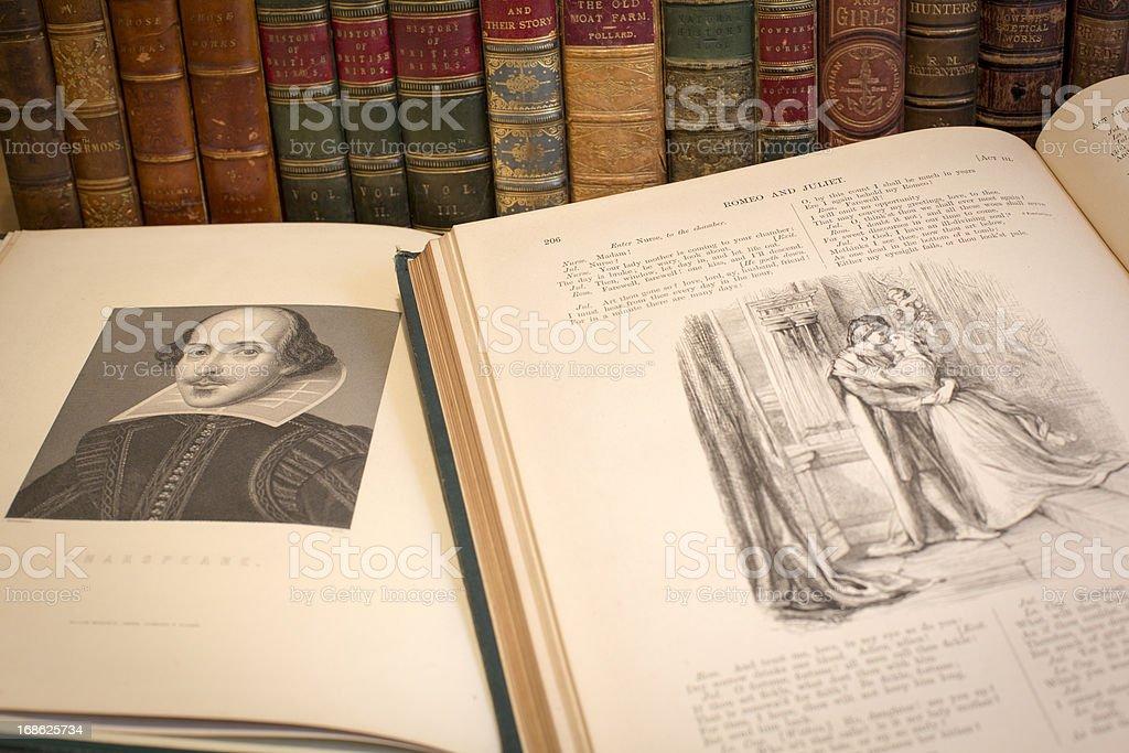 William Shakespeare royalty-free stock photo