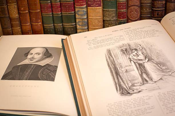 william shakespeare - drehbuchautor stock-fotos und bilder