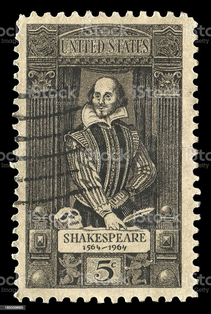 William Shakespeare (XXL) royalty-free stock photo