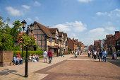 William Shakespeare's birthplace in Strartford upon Avon, Warwickshire, UK