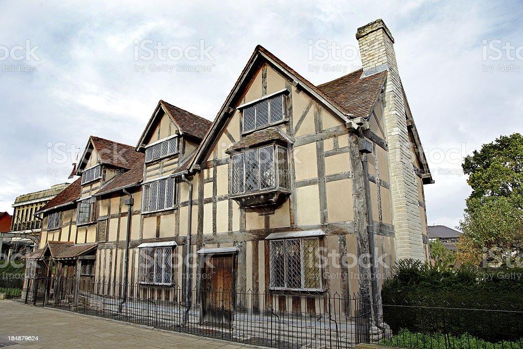 William Shakespeare's Cottage stock photo