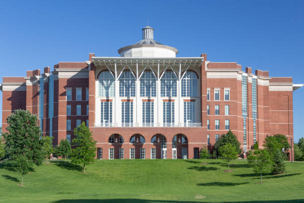 William T. Young Library at University of Kentucky stock photo