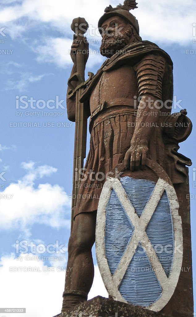 William Wallace Monument stock photo