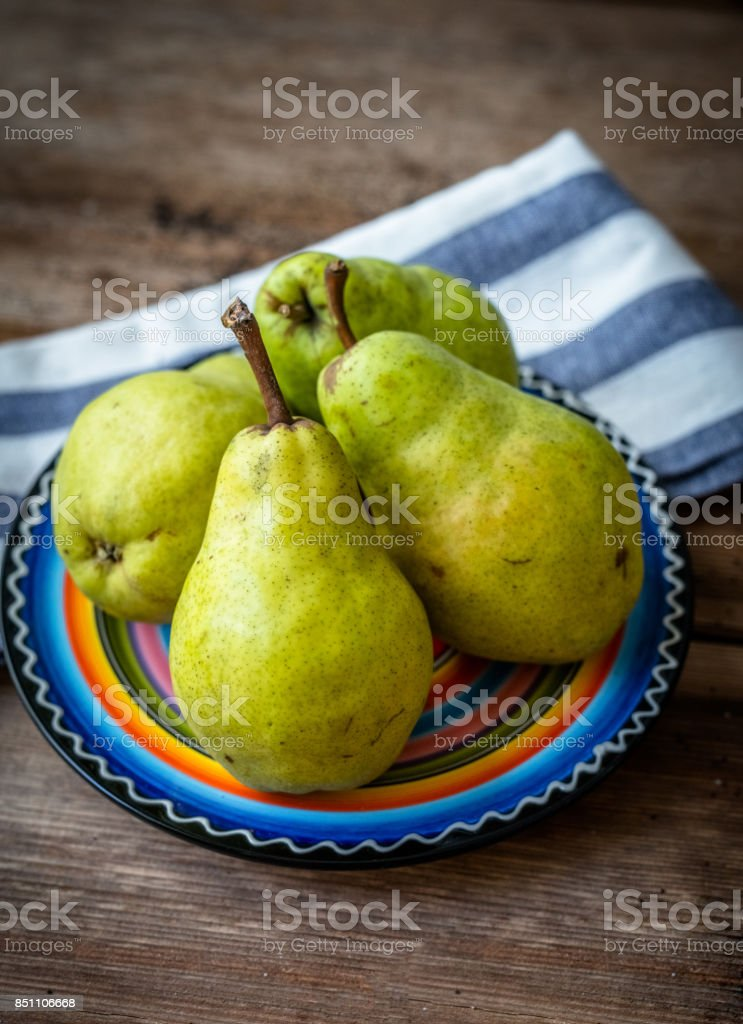Williams pear stock photo