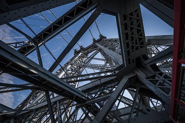 Williamsburg Bridge, New York City, United States stock photo