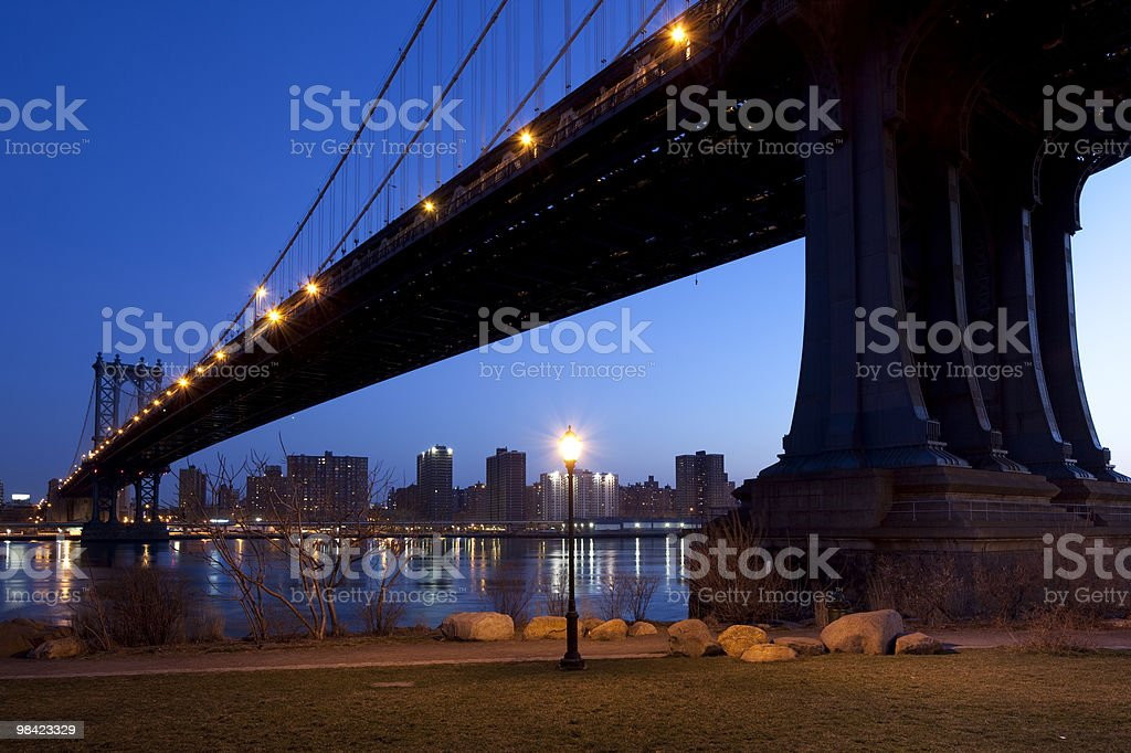 Williamsburg Bridge royalty-free stock photo