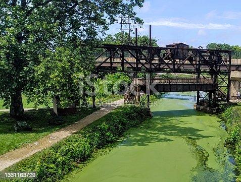 istock Williamsport Canal Lock 1331163729