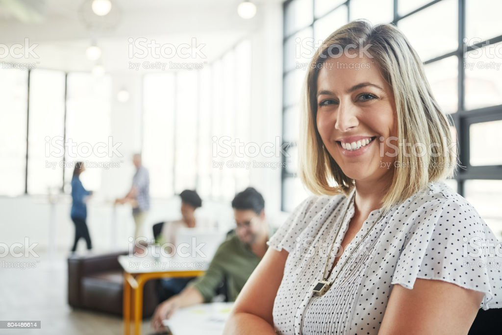 Willing to go above and beyond to satisfy customers stock photo
