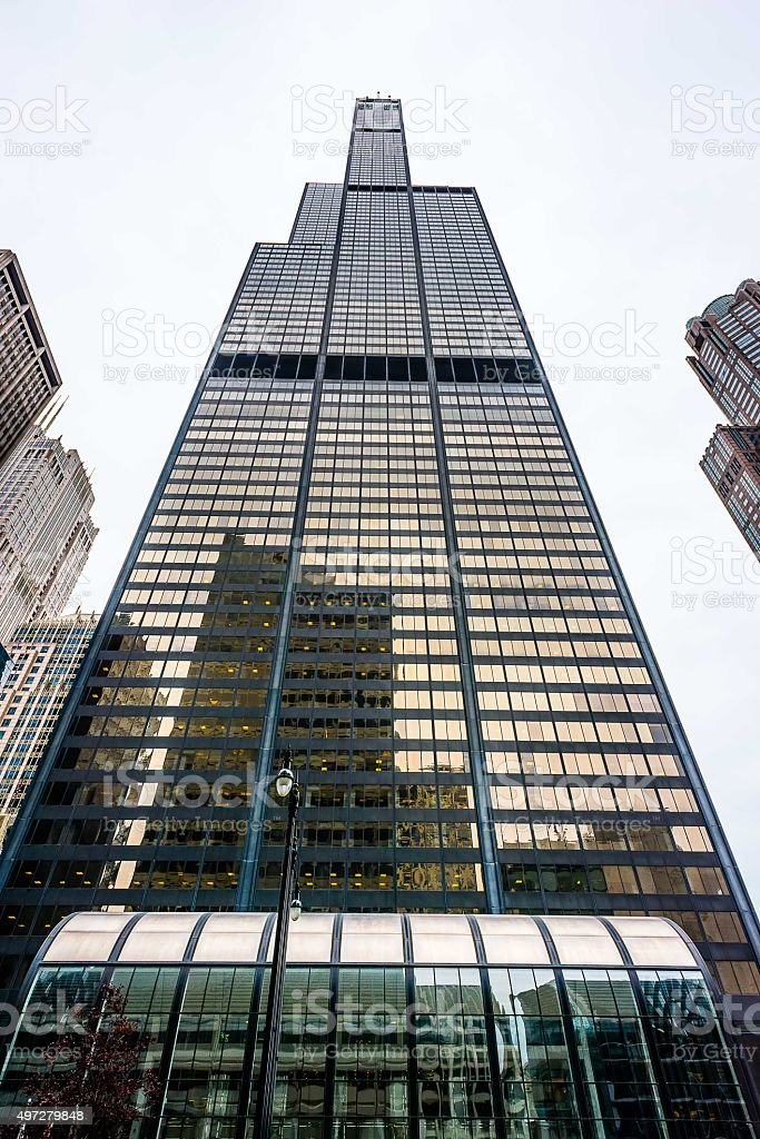 Willis Tower, Chicago stock photo