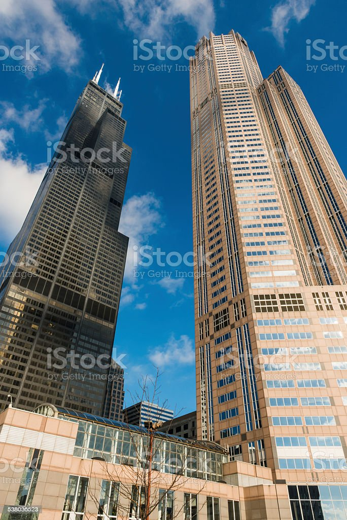 Willis Tower stock photo