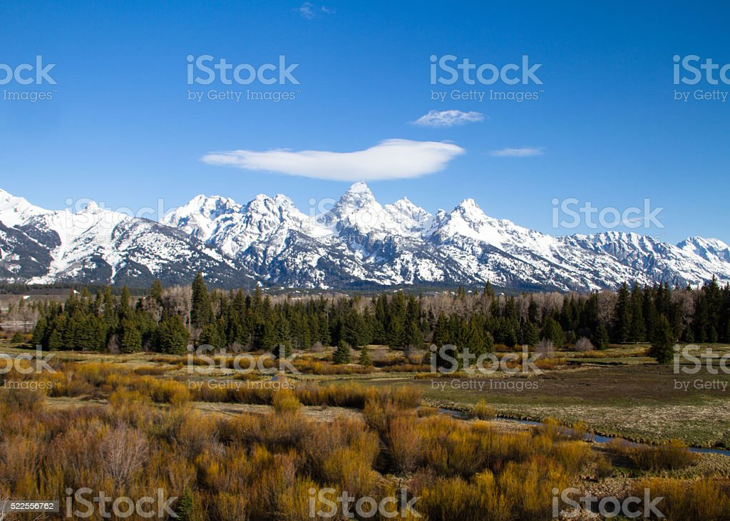 Willow Flats stock photo