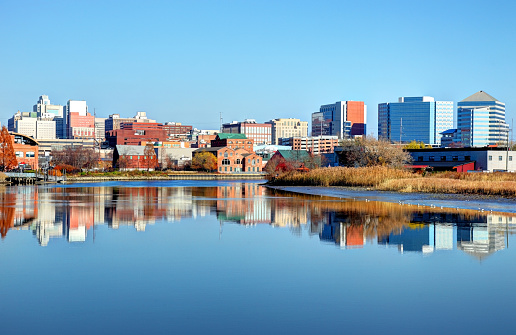 Wilmington is the largest city in the state of Delaware, United States and is located at the confluence of the Christina River and Brandywine Creek