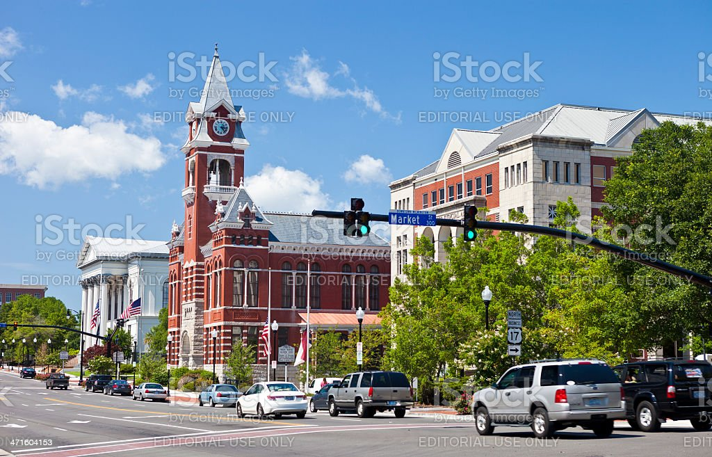 Wilmington, North Carolina, USA royalty-free stock photo